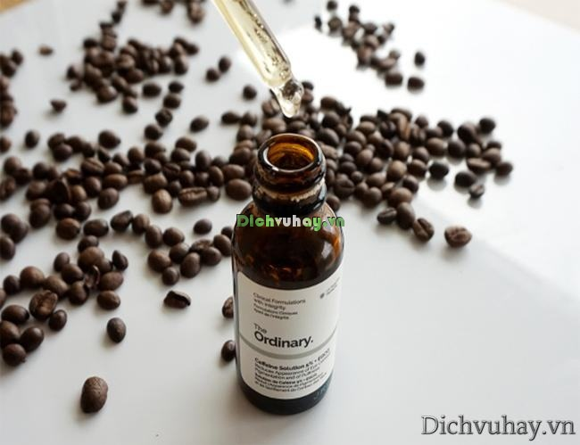 Serum The Ordinary Caffeine Solution giá bao nhiêu?