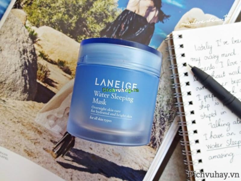 Review mặt nạ dưỡng da Laneige Water Sleeping Mask